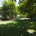 Tent camping area at Wai'ānapanapa State Park.- Wai'ānapanapa State Park