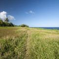 Kahakai Trail.- Kūloa Point + Kahakai Trail