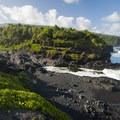 View of the 'Ohe'o Gulch from Kūloa Point.- Kūloa Point + Kahakai Trail