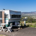 Camping at Dead Horse Ranch.- Dead Horse Ranch Campground