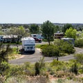 The upper loops are tiered for great views.- Dead Horse Ranch Campground