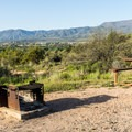 Site #63 has the best view in the park.- Dead Horse Ranch Campground