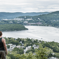 Gazing out over Cold Spring, New York.- Mount Taurus / Bull Hill