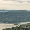 The New York City skyline on the horizon.- Mount Taurus / Bull Hill