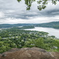The first lookout south over the Hudson River Valley.- Mount Taurus / Bull Hill