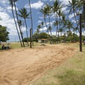 Valleyball courts at Kalama Park.- Kalama Park + Cove Beach Park