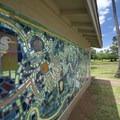 Public art at Kalama Park.- Kalama Park + Cove Beach Park