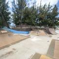 Skateboard park at Kalama Park.- Kalama Park + Cove Beach Park