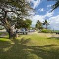 Picnic area at Kama'ole Beach Park 1.- Kama'ole Beach Park 1 / Charley Young Beach