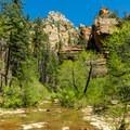 West Fork of Oak Creek.- West Fork Trail Hike
