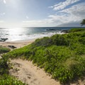 Kama'ole Beach Park 3 with the West Maui Mountains in the distance.- Kama'ole Beach Park 3