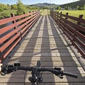 There are a lot of beautiful bridges along this end of the trail.- The Rail Trail