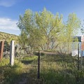 One of the access points.- The Rail Trail