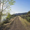 The trail is a bit more rugged on this end.- The Rail Trail