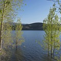 Echo Reservoir.- The Rail Trail