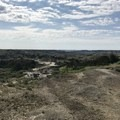 The view looking over the South Petrified Forest.- Petrified Forest Loop Trail