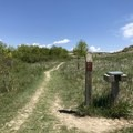 A trail register.- Petrified Forest Loop Trail