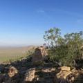 Saddleback Butte's rocky top.- Saddleback Butte State Park