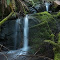 Falls along the Cloverpatch Trail.- Cloverpatch Trail Hike
