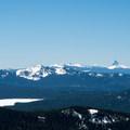 Mount Thielsen.- Diamond Peak: Pioneer Gulch/Southwest Ridge