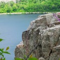 The top of the West Bluff Trail.- Devil's Lake State Park