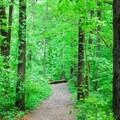 The CCC Trailhead.- Devil's Lake State Park