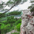 The top of the CCC Trail.- Devil's Lake State Park