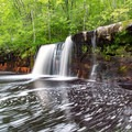 Wolf Creek Falls.- Wolf Creek Falls