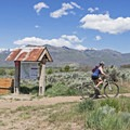 Starting out for a great day of riding in Heber City, Utah.- Coyote Canyon Trails: Coyote Trailhead