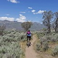 Upper Riverview Trail, Blue Route.- Coyote Canyon Trails: Coyote Trailhead