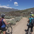 More than one doubletrack and singletrack ride begins from this trailhead.- Coyote Canyon Trails: Coyote Trailhead