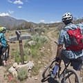 Catching our breath on some of the upper trails.- Coyote Canyon Trails: Coyote Trailhead