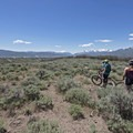 The vast scrubland common to southern Utah.- Coyote Canyon Trails: Coyote Trailhead