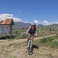 Ending the day at the Coyote Canyon Trailhead.- Coyote Canyon Trails: Coyote Trailhead
