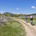 Singletrack and doubletrack opportunities abound.- Round Valley Trails: Quinn's Trailhead