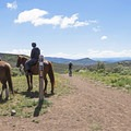 You can hike, bike, and even ride horses here.- Round Valley Trails: Quinn's Trailhead