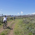 Matt's Flat and miles and miles of trails.- Round Valley Trails: Quinn's Trailhead