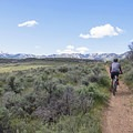 Heading farther north into the system, a large bowl valley has trails crossing in all directions.- Round Valley Trails: Quinn's Trailhead