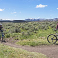 Wide-open scrublands and miles and miles of trails.- Round Valley Trails: Quinn's Trailhead