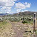 Rademan Ridge is one of the more technical sections.- Round Valley Trails: Quinn's Trailhead