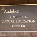 A plaque commemorating the Kimberin Nature Education Center.- Kimberlin Nature Education Center