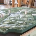A topographical relief of the Greenwich Audubon Society.- Kimberlin Nature Education Center