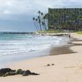 View north of the Mana Kai Maui Resort from Keawakapu Beach.- Keawakapu Beach