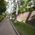 Narrow beach access pathway from South Kihei Road to Keawakapu Beach.- Keawakapu Beach