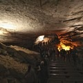 Inside Mammoth Cave.- Mammoth Cave National Park