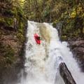 Thomas Creek Falls.- Upper Thomas Creek: Pumpkin Patch to Thomas Creek Falls