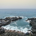The beaches are rocky and can have high surf.- Ka'ena Point Trail