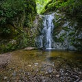 Fern Falls.- Fern Falls via Kahn Ranch