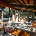 A visitor center makes a good starting point to the trail.- Lupine Loop Trail