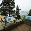 An overlook at Sand Beach.- Sand Beach